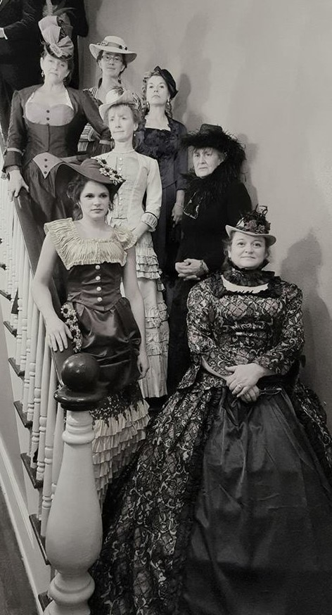 The ladies of the first ever Victorian Tea Reception