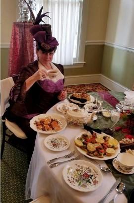 Cheryl at Tea