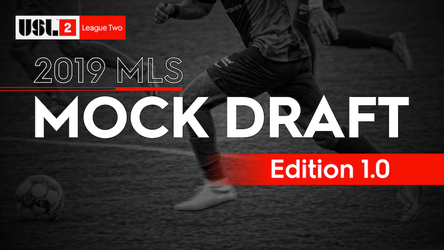 2019 MLS Mock Draft