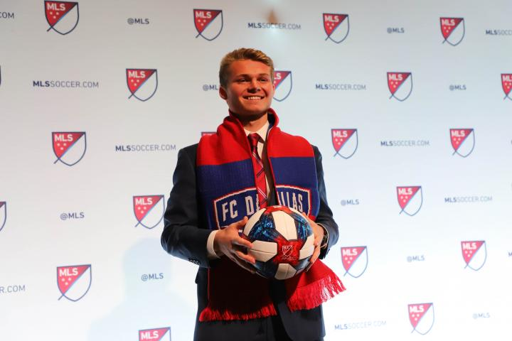 John Nelson selected by FC Dallas