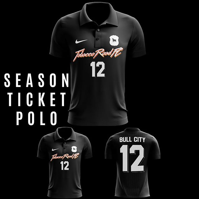 New season. Fresh new gear. Throwing it back to the '90s with our exclusive season ticket holder supporters polo. Purchase your tickets now to secure one while they last! . . . #tobaccoroadfc #trfc #tickets #durham #durm #bestofdurham #bullcitysoccer #path2pro #soccer #seasonticket #vintage #bullcitystrong #vintagesoccer #throwback #uslleaguetwo #dedication