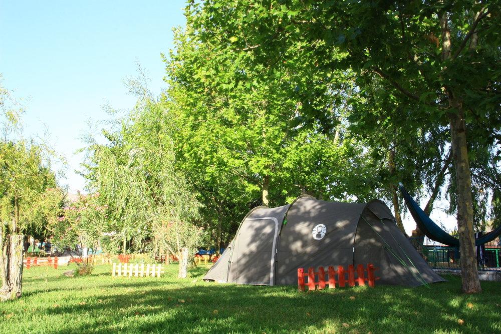 % en campamentos - Descuento para grupos.