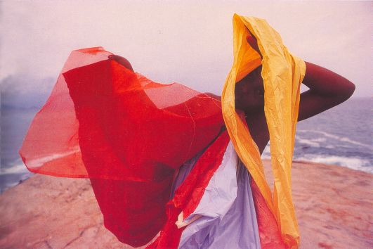 Hélio Oiticica, Parangolé P4 Cape 1, 1964. Photo Sergio Zalis