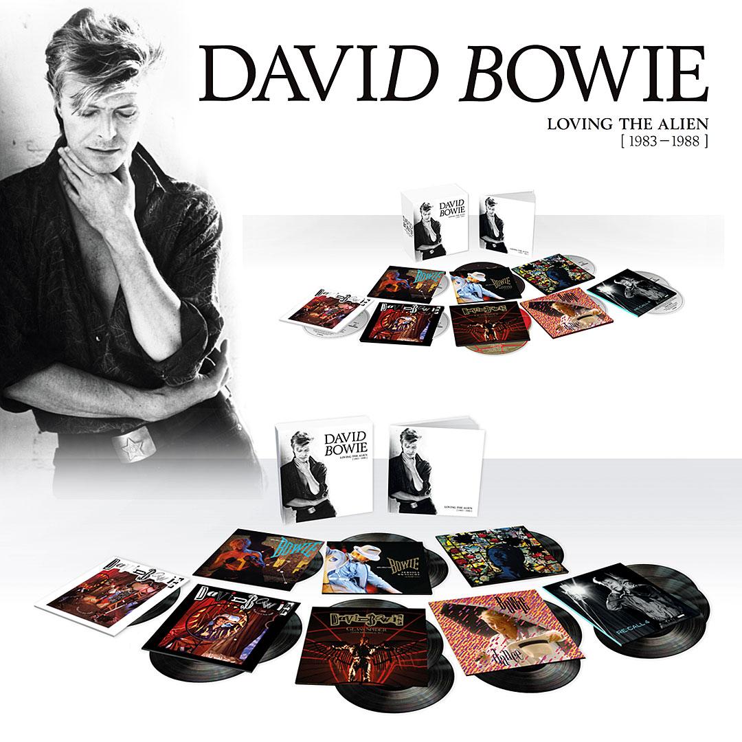 David Bowie Loving The Alien (1983 – 1988) due October — David Bowie