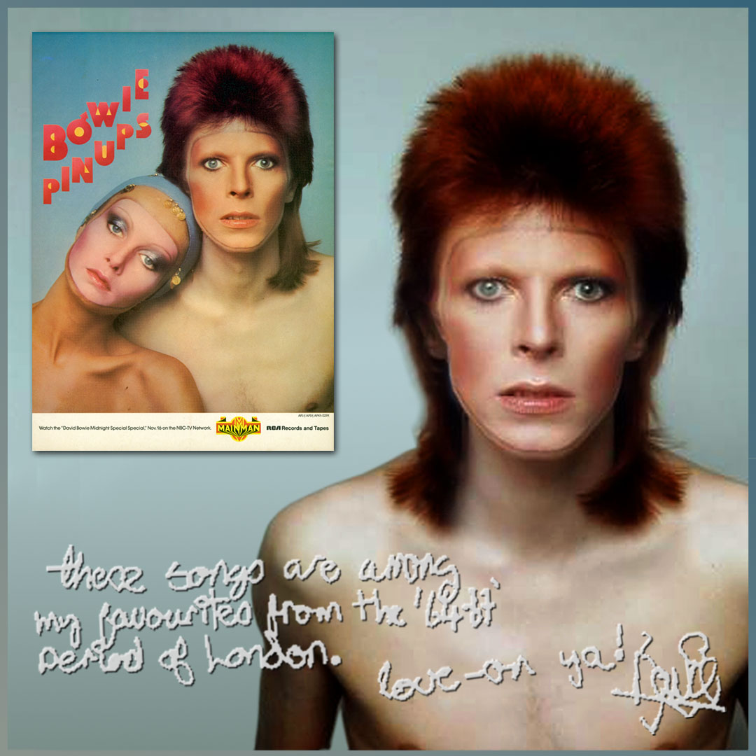 Pin Ups album is 45 today — David Bowie