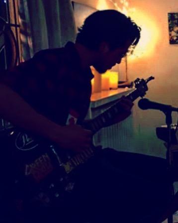 ::::::VVolves 12.15.17::::: . . @adarkandstormyknight  rocking the halo 😇 . . #vvolves #vvolvesmusic #wolves #yvr #vancouver #music #lovemusic #livemusic #intimate #houseshow #deepintothenight #hallelujah