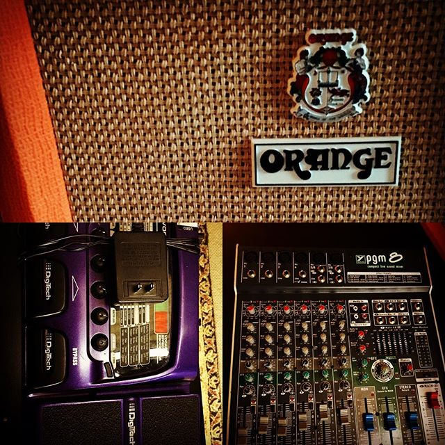 Oops... . . #longandmcquade #blowout #sale #yvr #music #musician #vancouver #georgiastraight #live #vox #orange