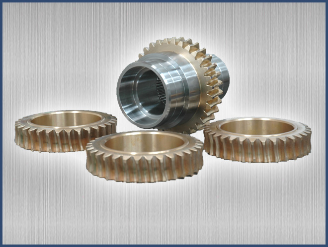 Drive Coupling with Gear
