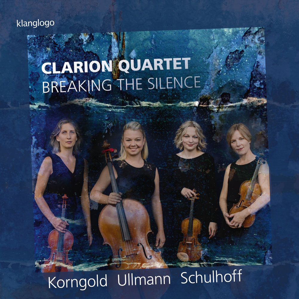 AVAILABLE FEBRUARY 23 - BREAKING THE SILENCEThe debut album from the Clarion Quartet, featuring works by Korngold, Ullmann, and Schulhoff