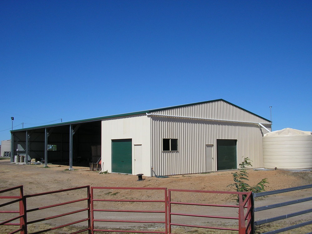 SHEDS, STABLES & CONCRETING -