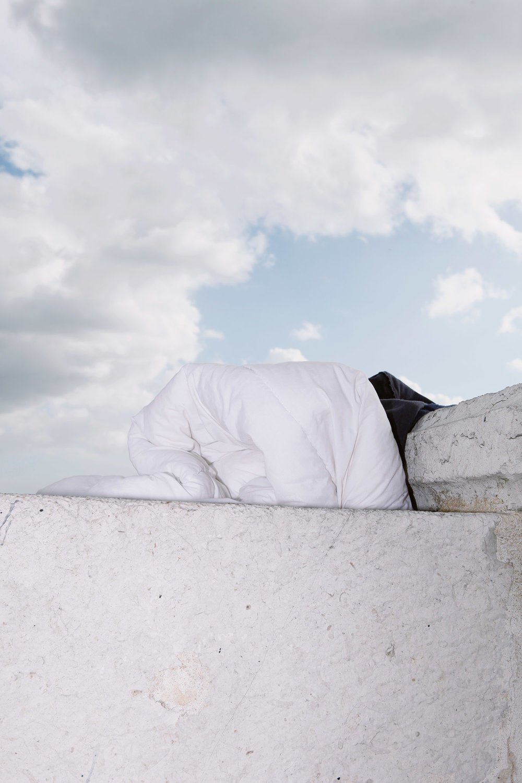 Justine Guerriat Microcosm series Homeless Blanket