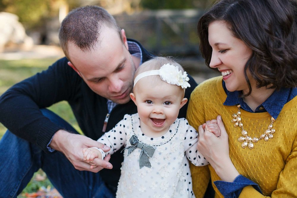 Family Photos and Baby Milestones for Families in Springfield, Branson, and Kansas City Missouri