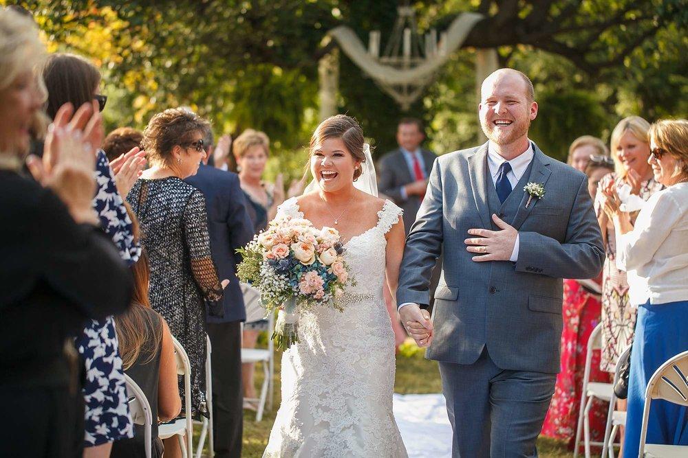 Backyard Wedding Vows in Fort Smith Arkansas, Fayetteville, Bentonville Arkansas, Springfield, Branson and Kansas City Missouri Wedding Photography