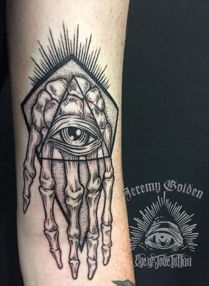 Jeremy Golden - Eye Of Jade Tattoo