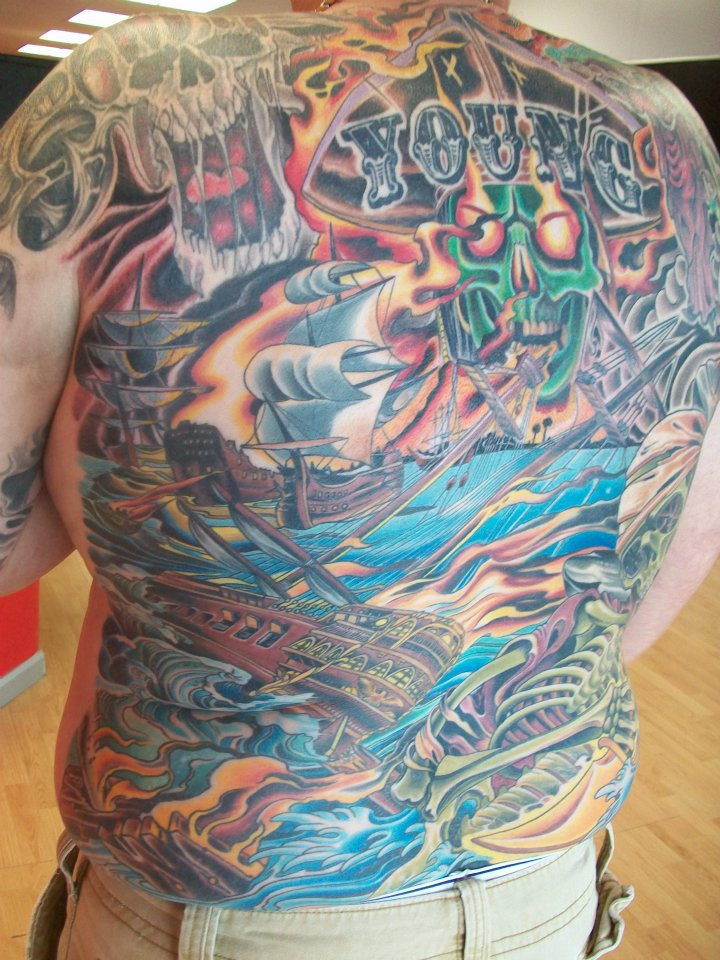 Jeff Pickens - Old Foxx Tattoo