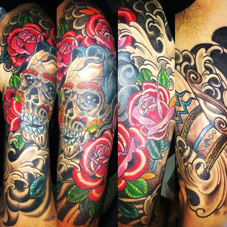 Juan Nava - First Love Tattoo