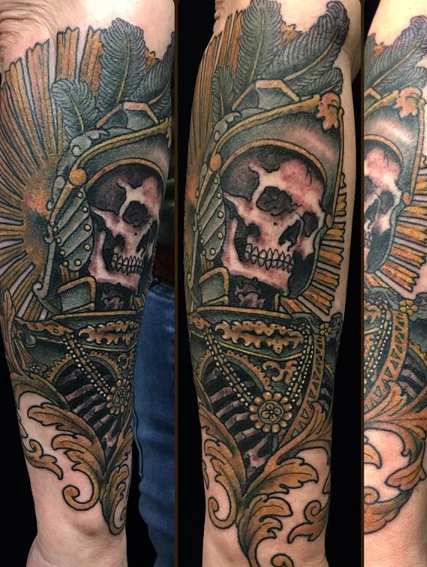 Khalil Linane - Iron Mountain Tattoo