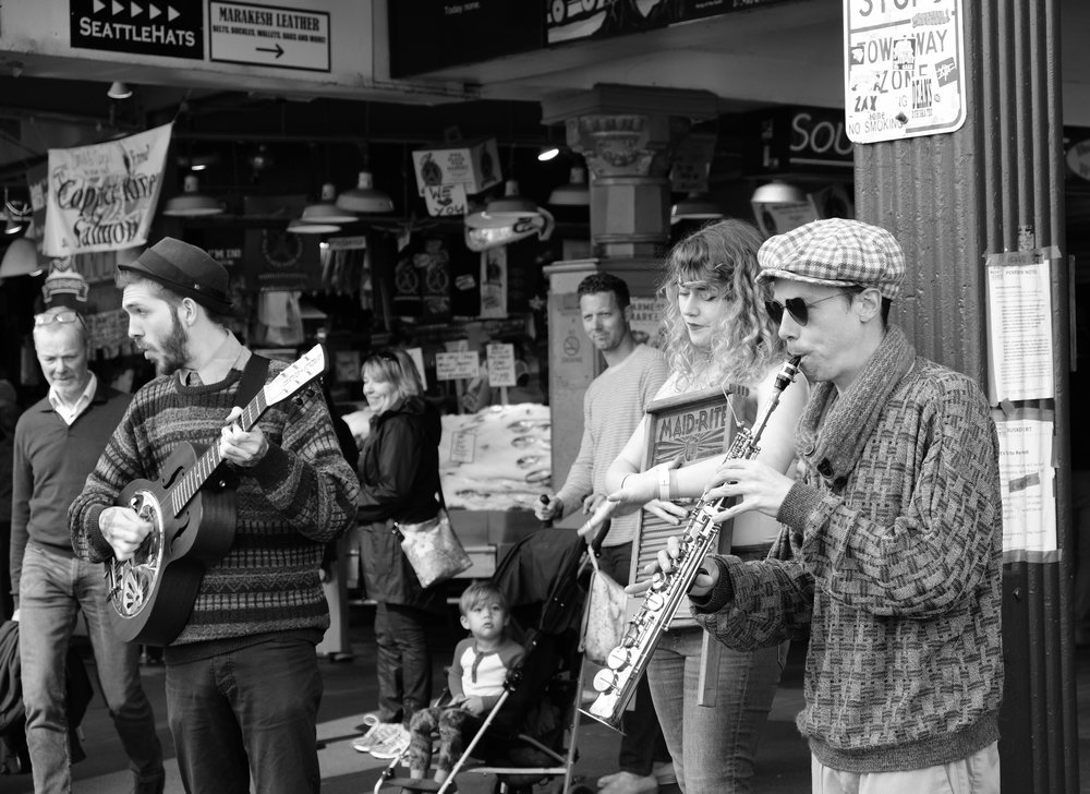 Pike Place Market, Seattle.