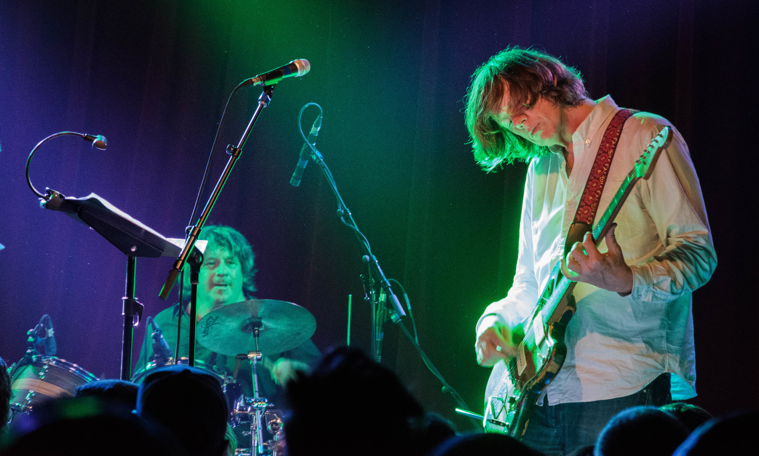 Thurston Moore Group TM and Drummer