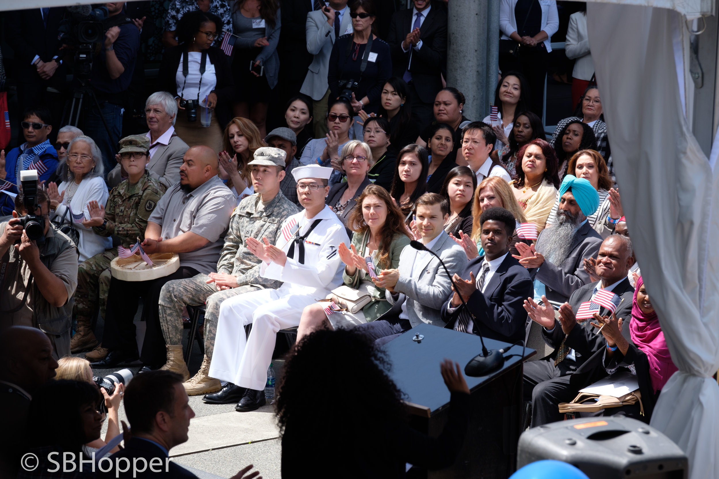 Naturalization Ceremony at Seattle Center 2017