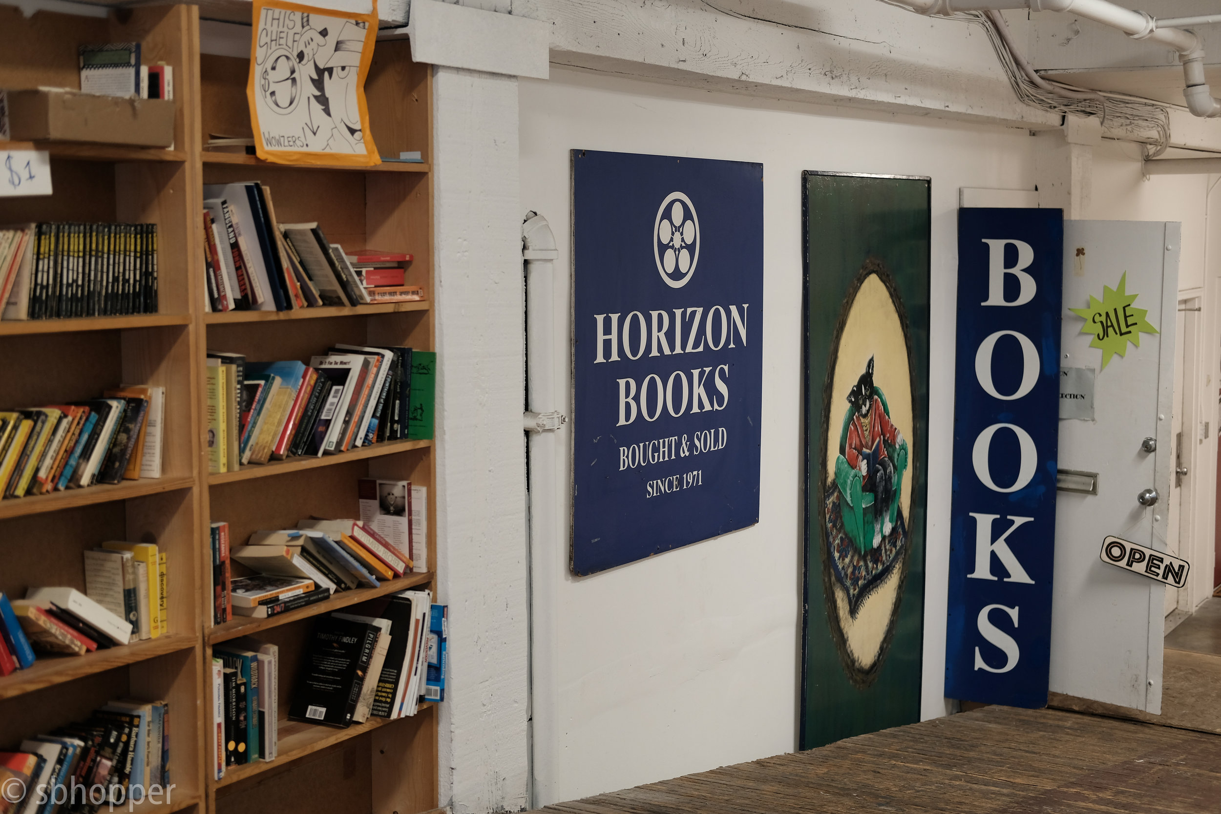 Horizon Books, Capitol Hill, Seattle, Bookstore, Used Bookstore, Photography