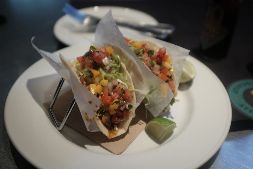 Well, it was Tuesday. I had no choice. Fish tacos at Yard House, Seattle.