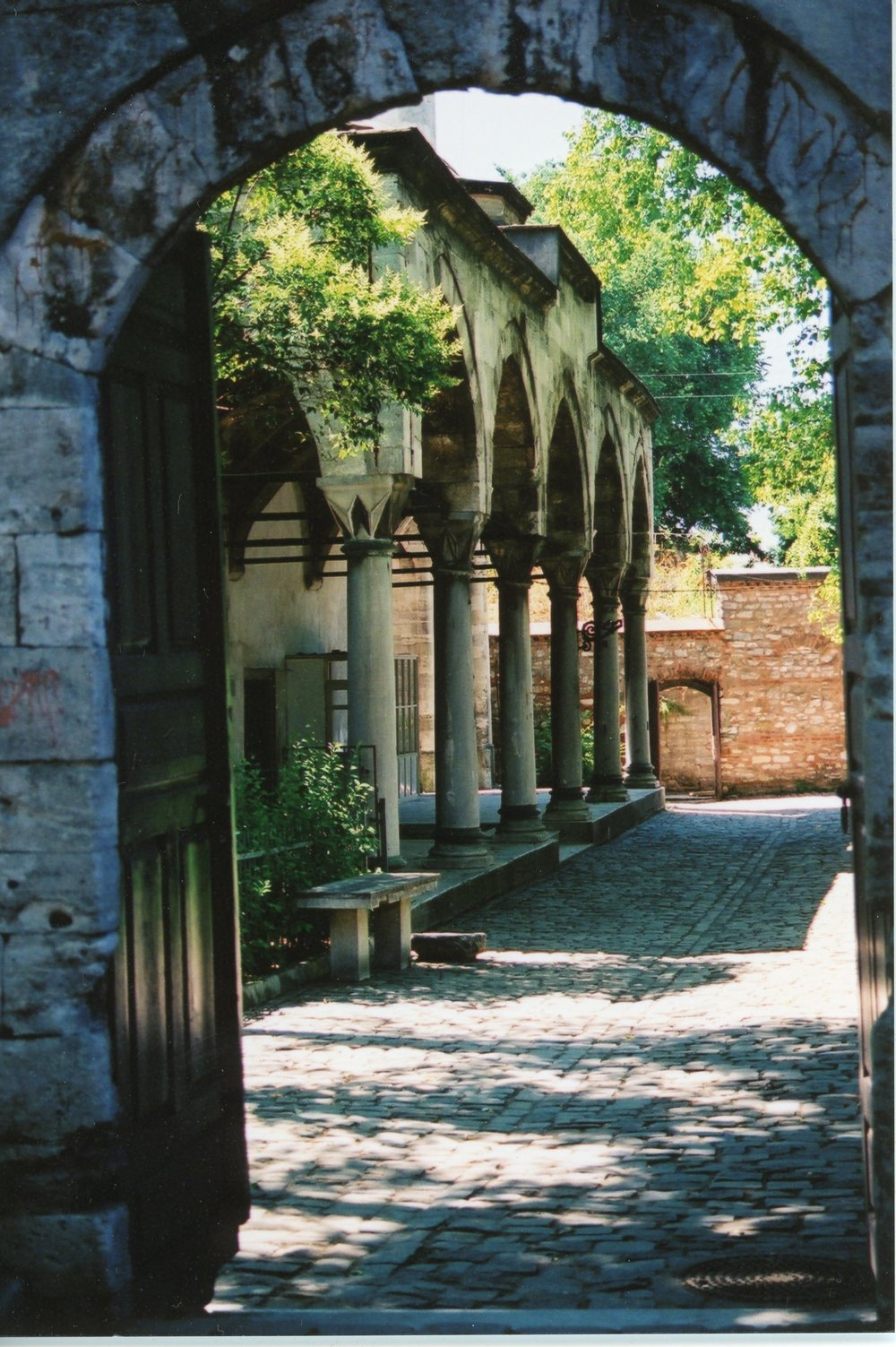 Kucuk Aya Sofia (or Little Hagia Sophia), sometime in 2000 or 2001.