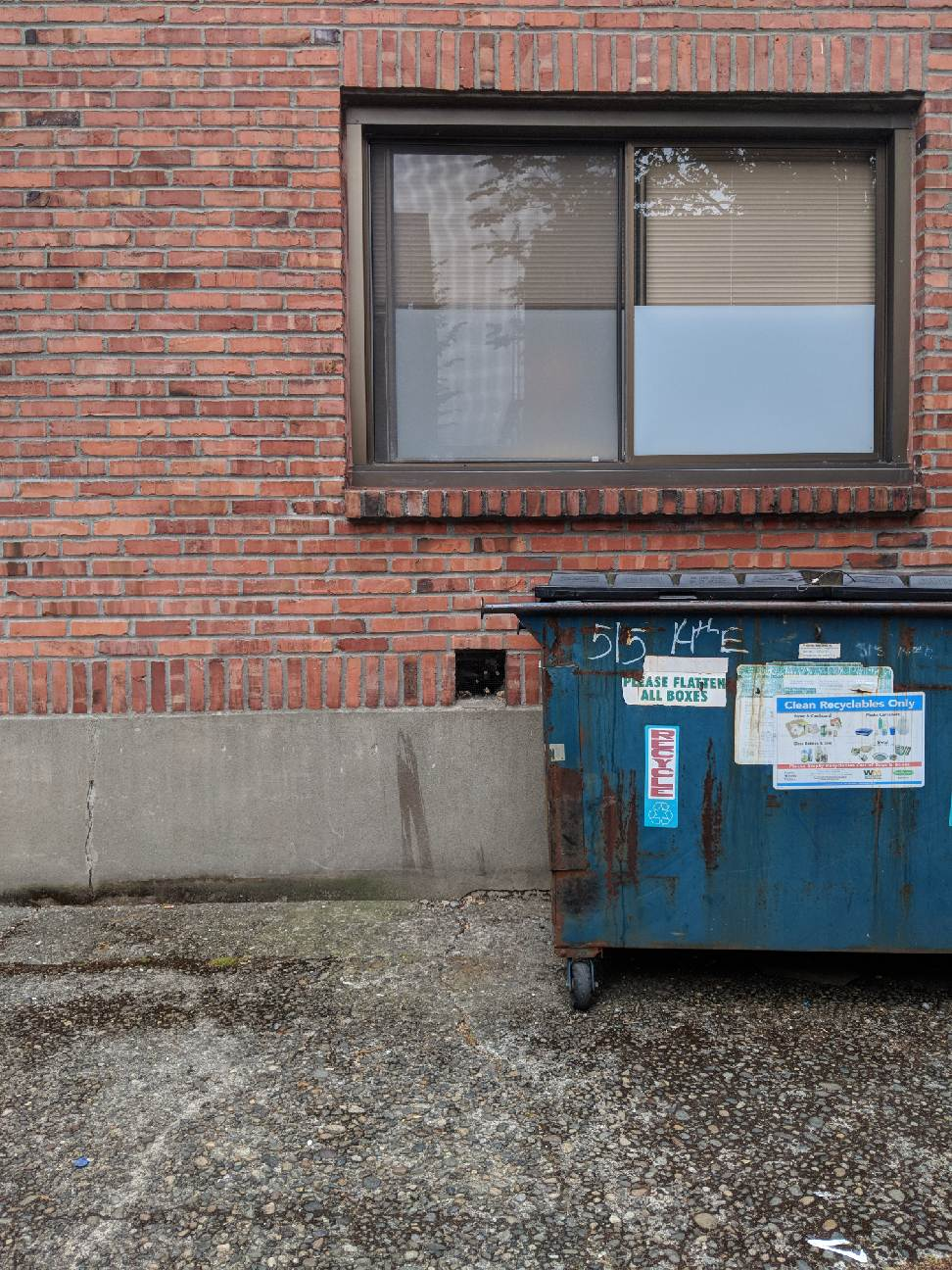 Aaron Tyrell, the alley between 13th and 14th Avenue East, Seattle, 4 July 2018.