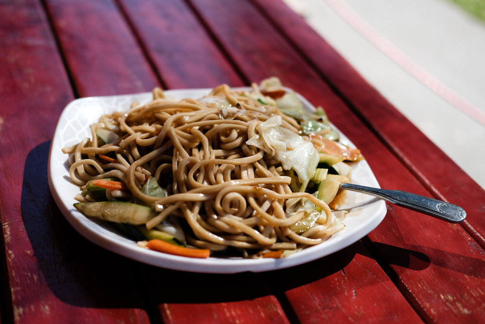 Chungee's Veggie Chow Mein, Capitol Hill, Seattle. ISO 200 | f2 | 1/2000