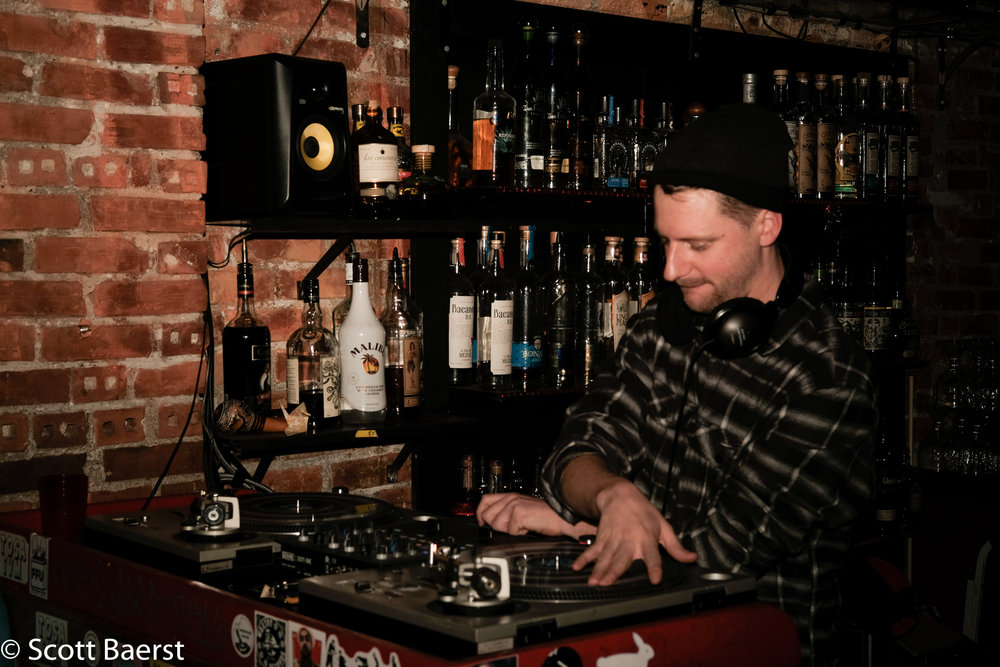DJ Ear Dr. Umz, Nacho Borracho, Capitol Hill, Seattle, November 2018.