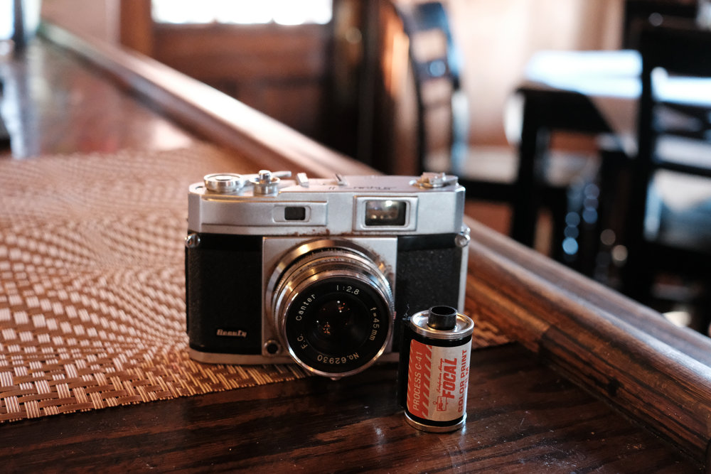 Beauty Super II with a roll of film from…the late 1960s?
