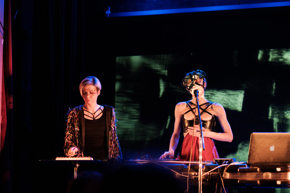 Roxanna and Redd Walitzski, Farewell Performance, Seattle, 1 February 2019.