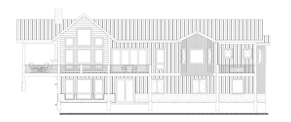 Design by:  Caribou Ridge Architecture