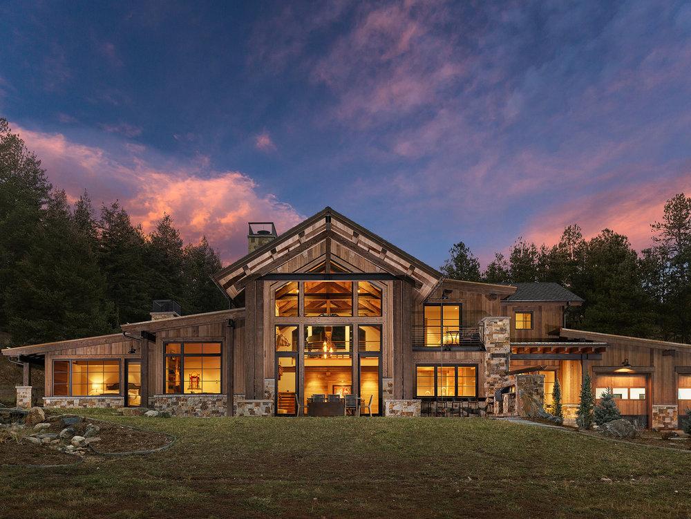 Home Design:  Centre Sky Architects  | Photos:  Eric Lucero