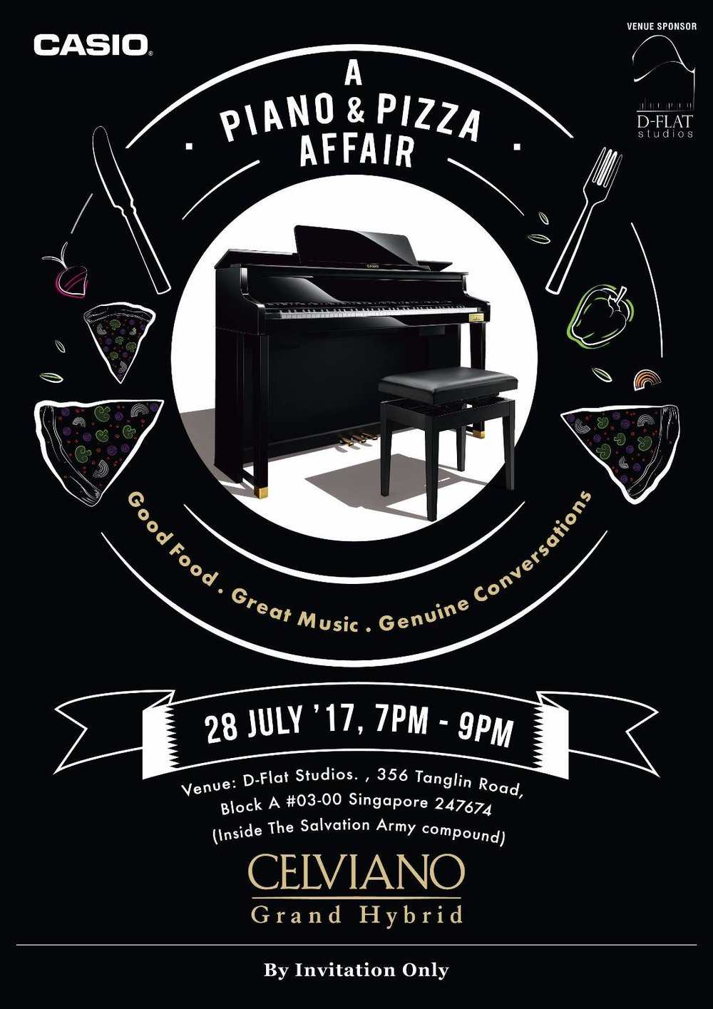 Piano & Pizza - 28th July 2017
