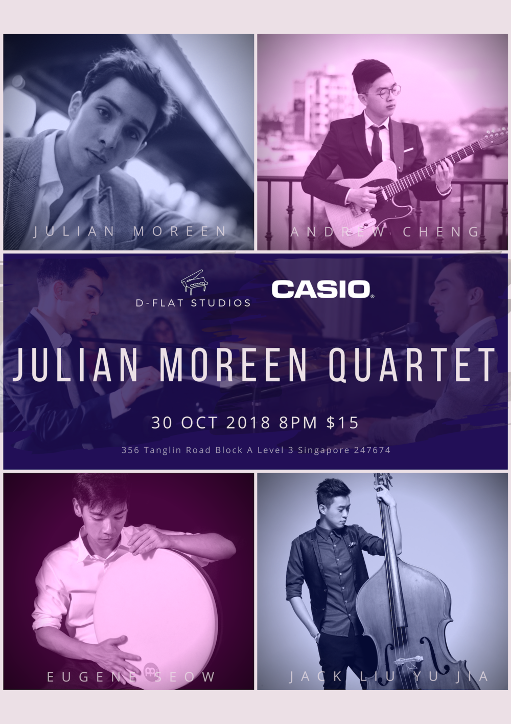 The Julian Moreen Quartet - 30th Oct 2018