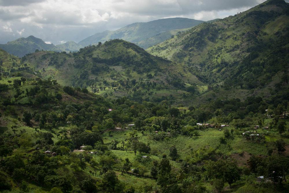 Peitite Montange, Central Plateau, Haiti,June 2017