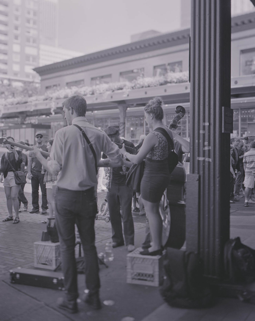 Music at the Market, Pike's Place Market, Seattle, WA, August 2017