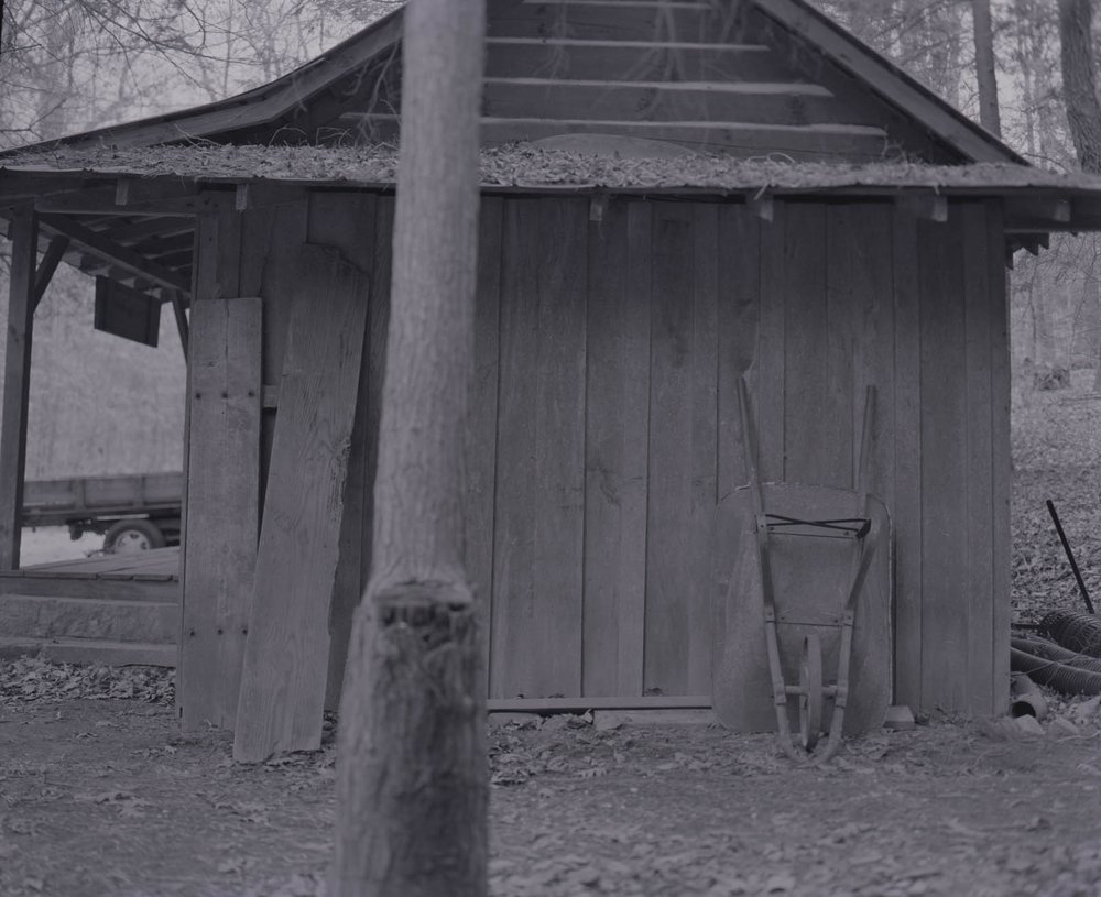 Shed at Abbo's Alley, Sewanee, TN, February 2017