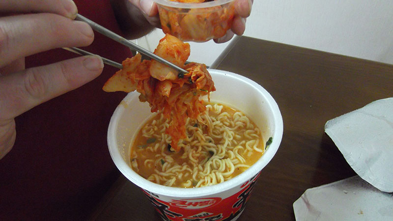 Add Kimchi