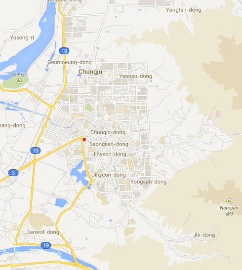 EMart Map, Chungju, South Korea