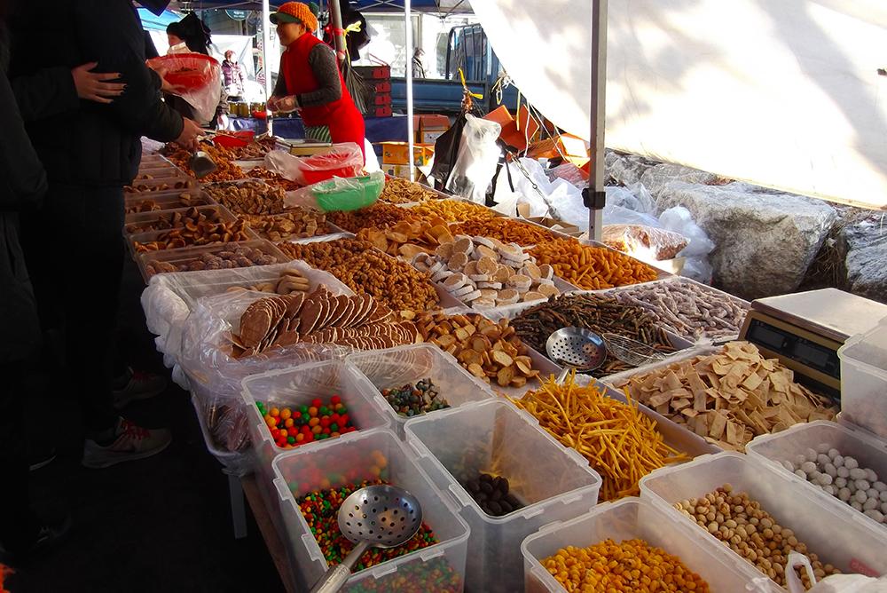 Chungju Traditional Market, Sweets Vendor