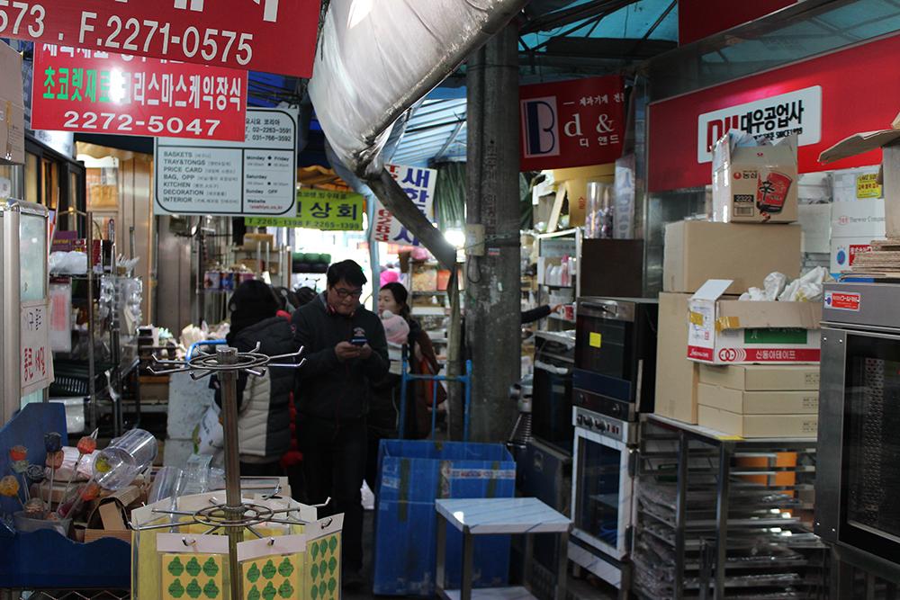 Bangsan Market Baker's Alley
