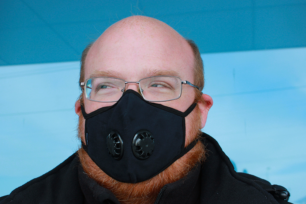 Sam pollution mask