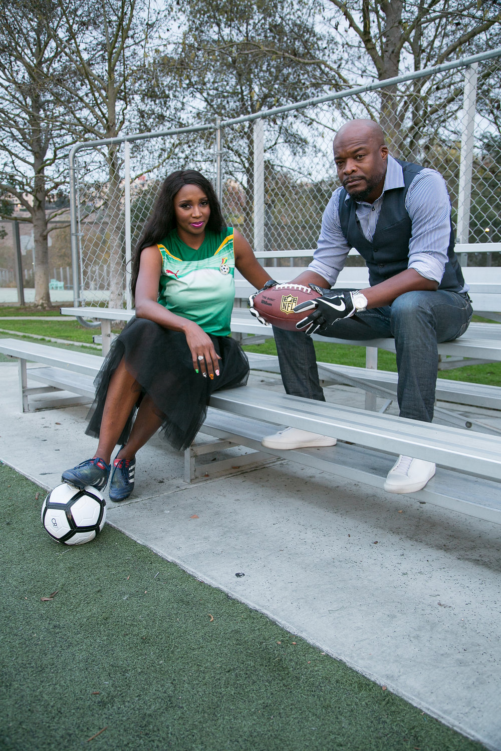 Co-founders Mimi and Kofi Nartey attribute a great deal of their success in business and life to their competitive sports careers.