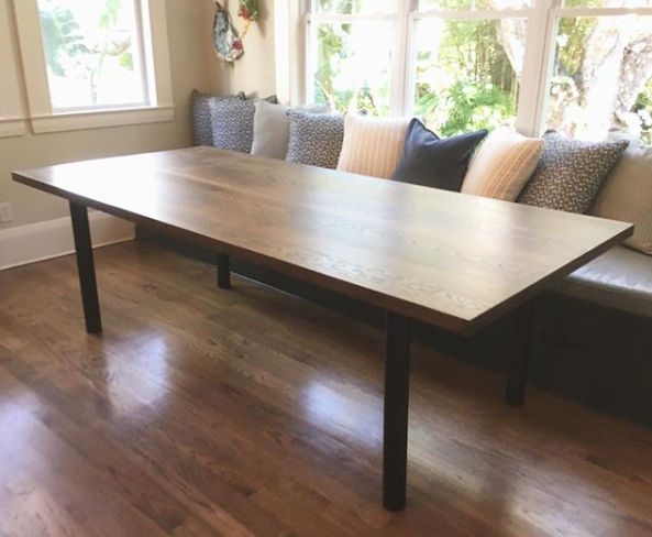 Ordinaire Alamo Design Co Tampa FL Custom Furniture Kitchen Table.PNG