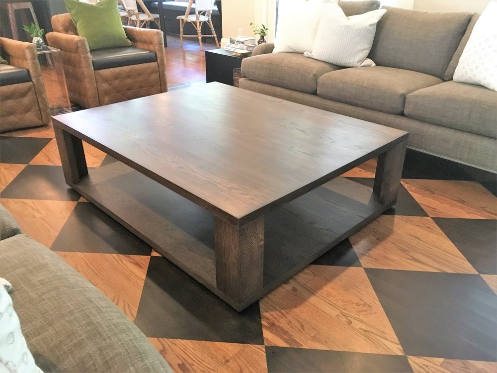 Attirant Alamo Design Co Tampa FL Custom Furniture Walnut Coffee Table