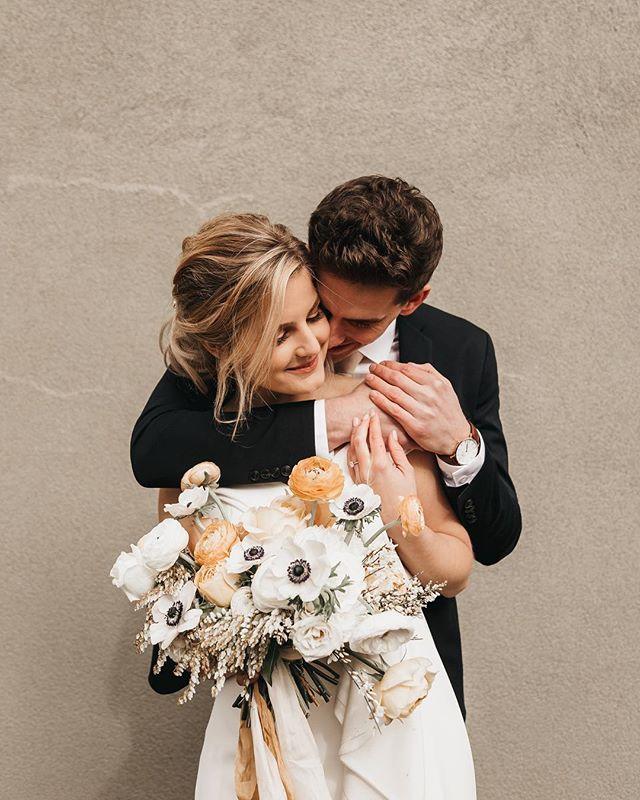 my oh my, so many loved photos from this wedding that I want to share them all. scroll through to see some good ol' black and white shots 🔥 #portlandphotographer #portlandwedding #portlandoregon #bridalportrait #abernathycenter #winterwedding