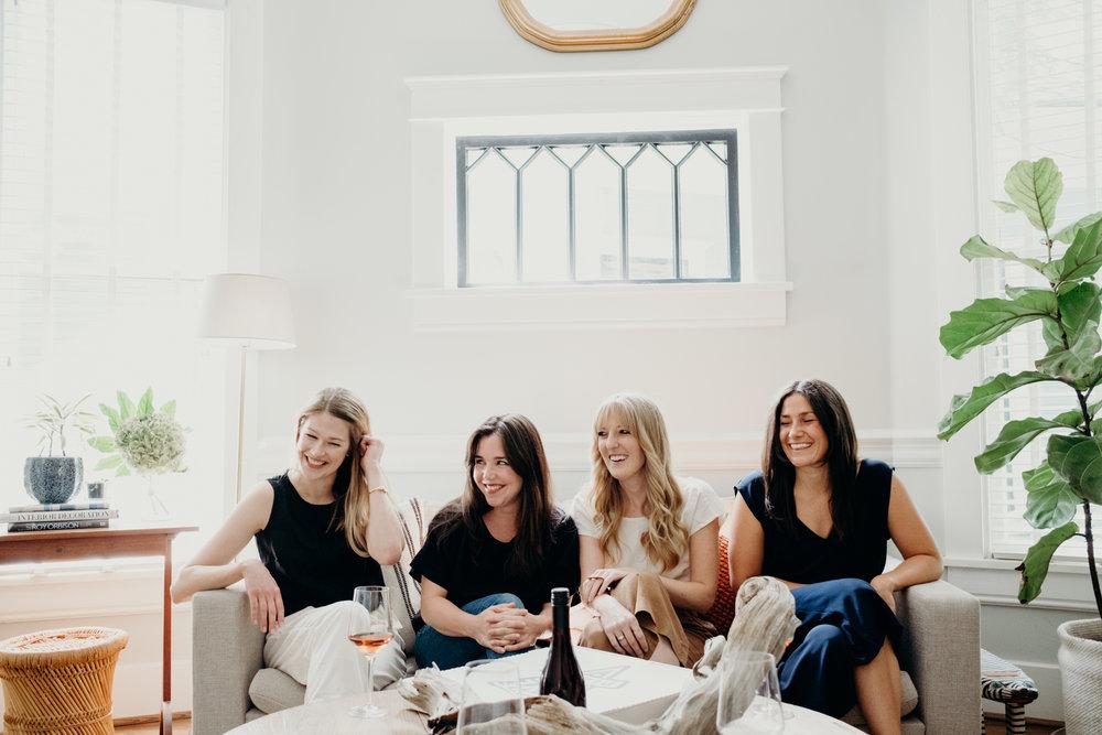 L to R: Kate, Fuller, Julia and Lindsay
