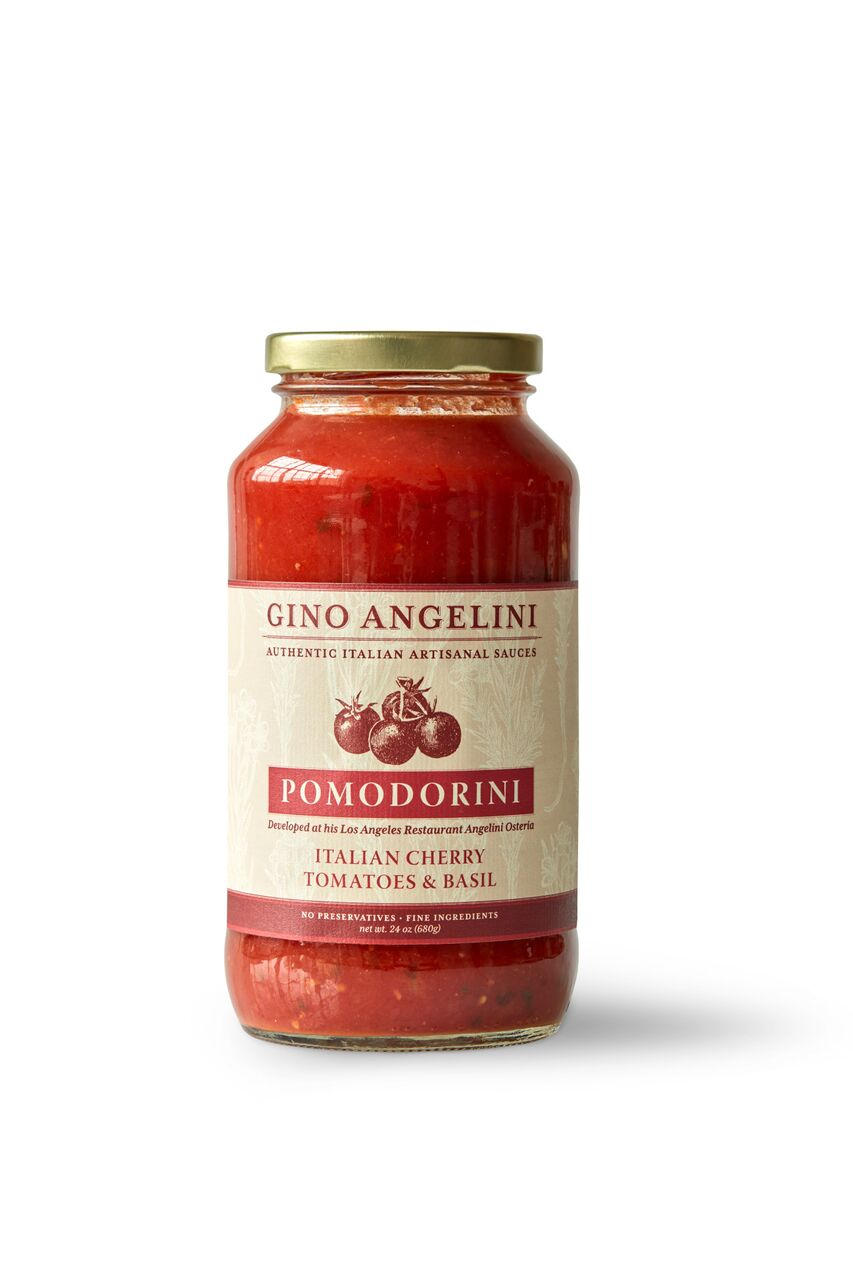 POMODORINI - The thin, sweet skins of the pomodorini, or cherry tomatoes, give this classic tomato sauce a light and delicate flavor. Perfect in dishes like Veal Chop Milanese, or simply served over spaghetti with freshly grated Parmigiano Reggiano, chopped fresh basil, and a drizzle of extra virgin olive oil. This sauce is gluten free and vegan.